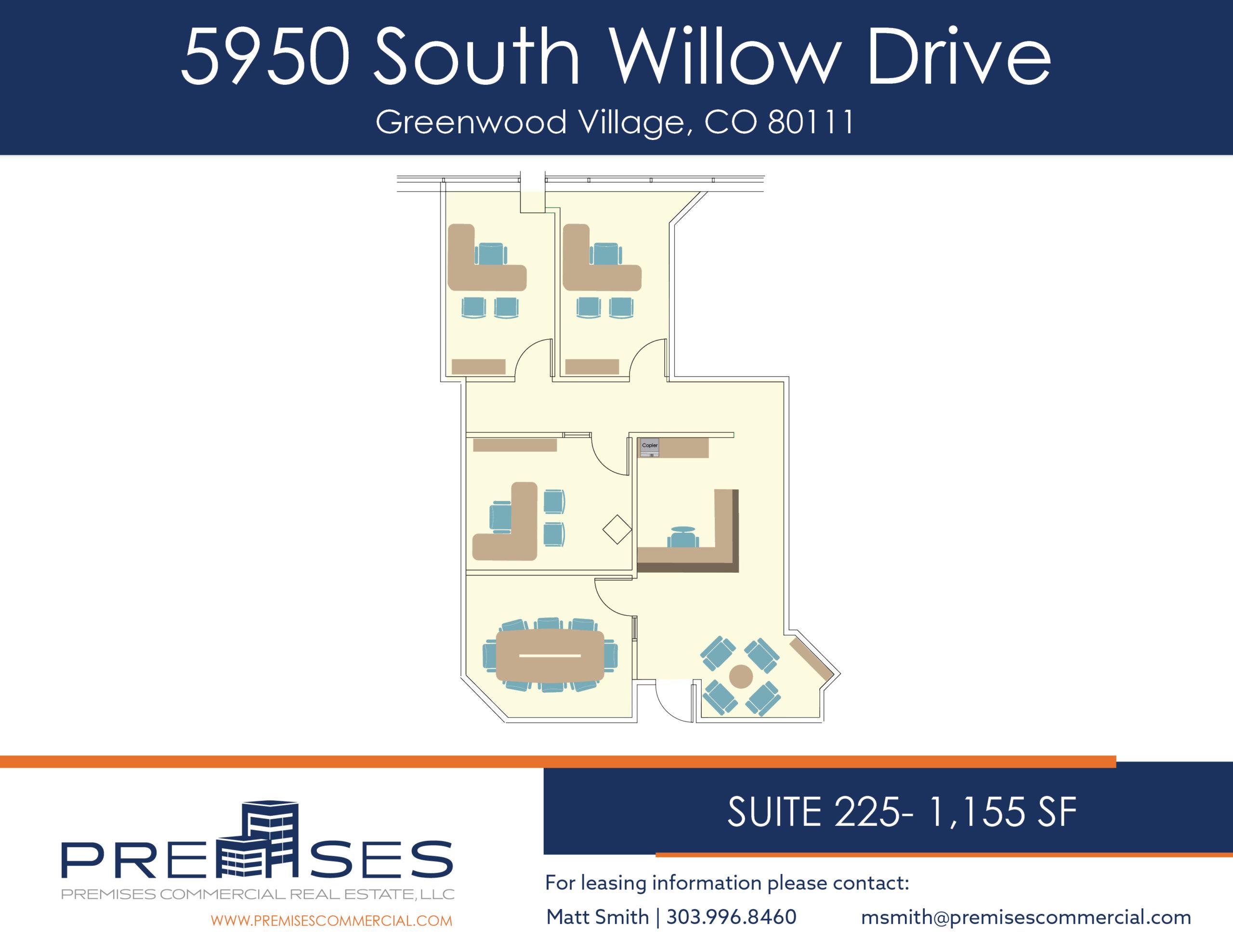 Suite 225 - 1,155 sf