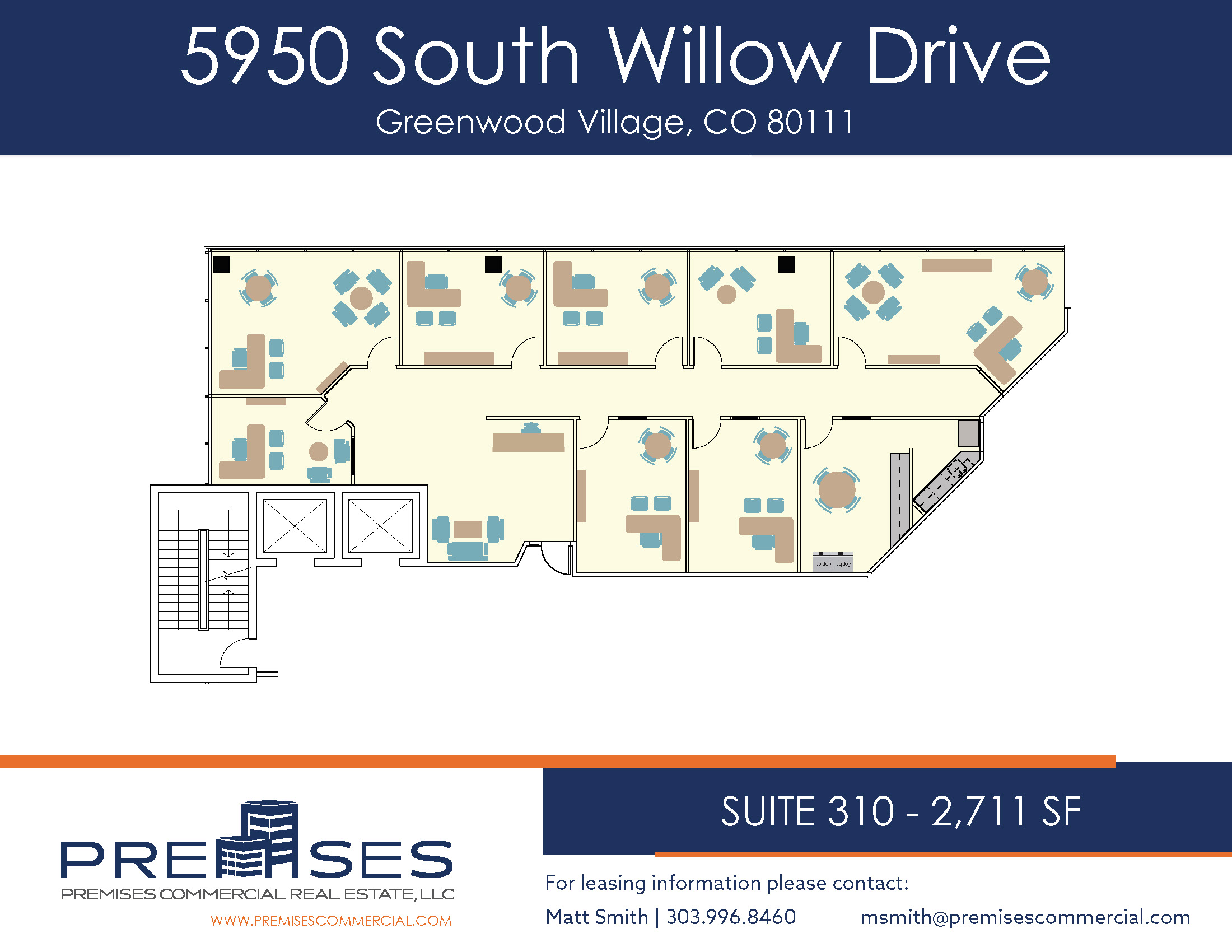 Suite 310 - 2,711 sf
