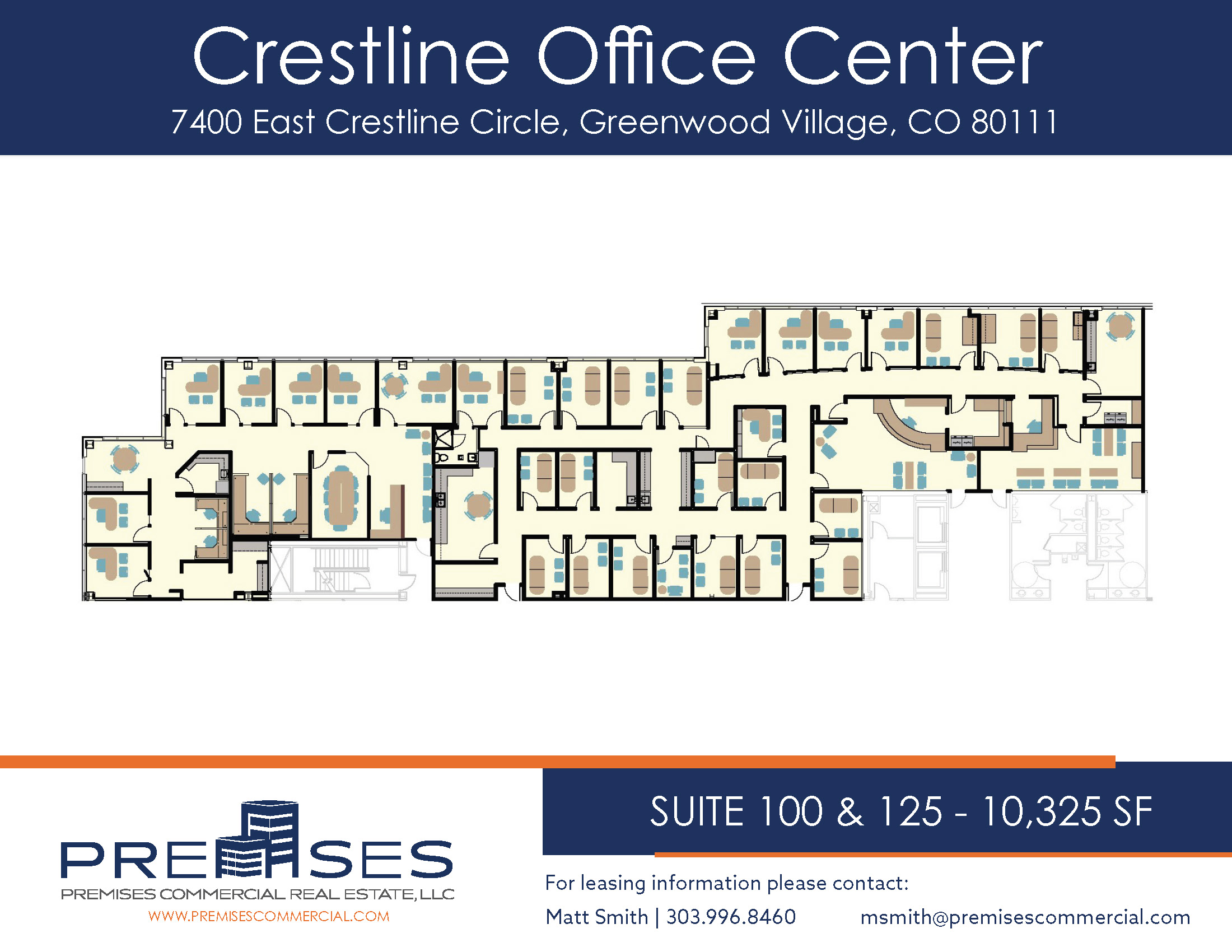 Suites 100 & 125 - 10,325 sf