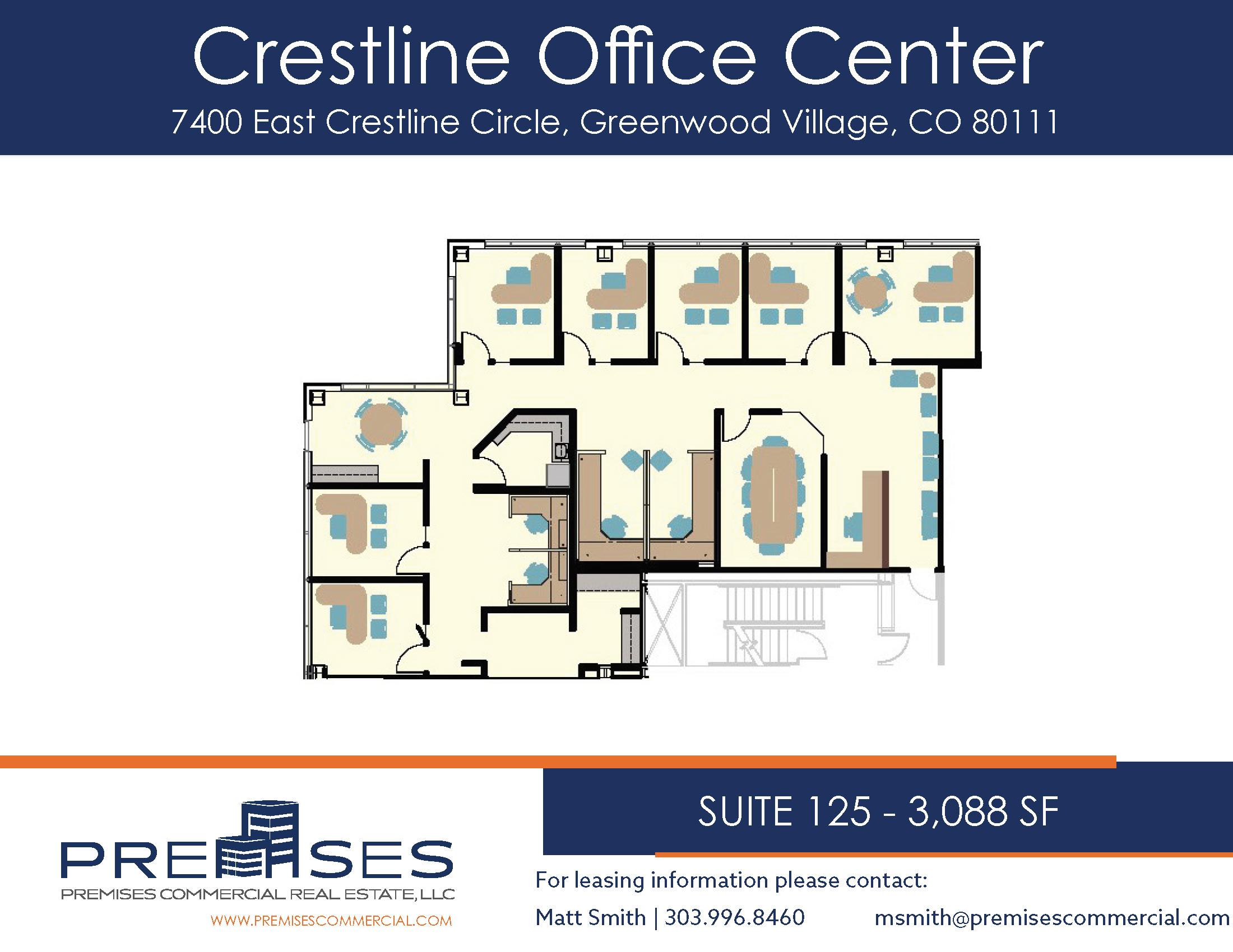 Suite 125 - 3,088 sf