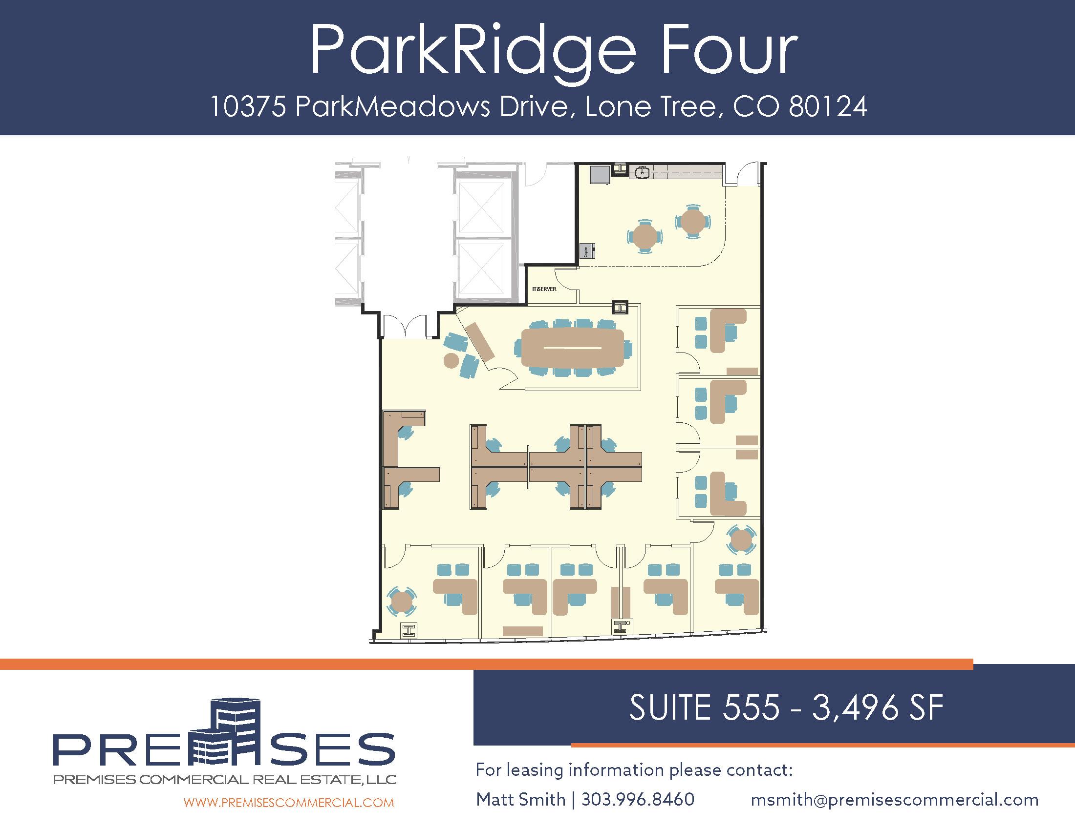 Suite 555 - 3,496 sf