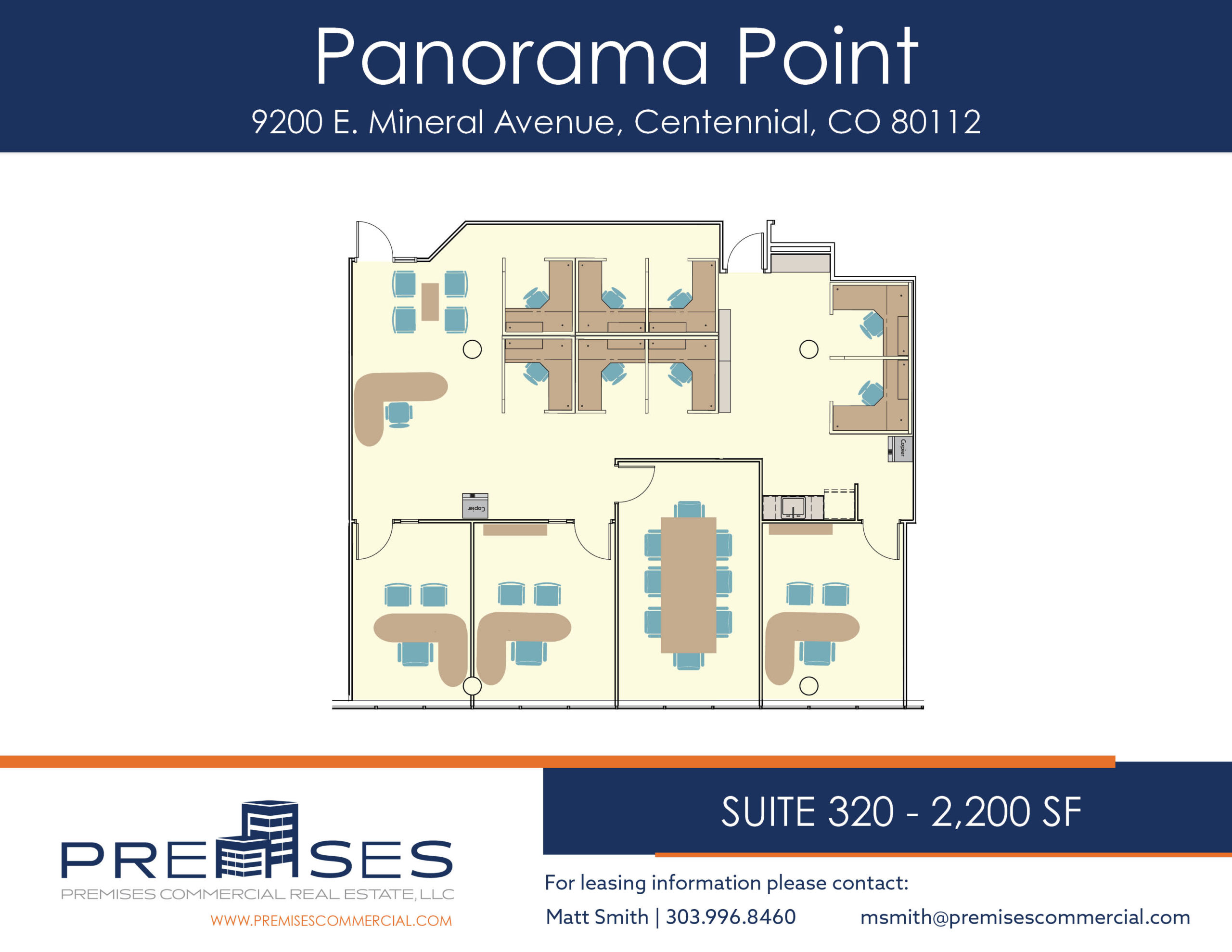Suite 320 - 2,200 sf