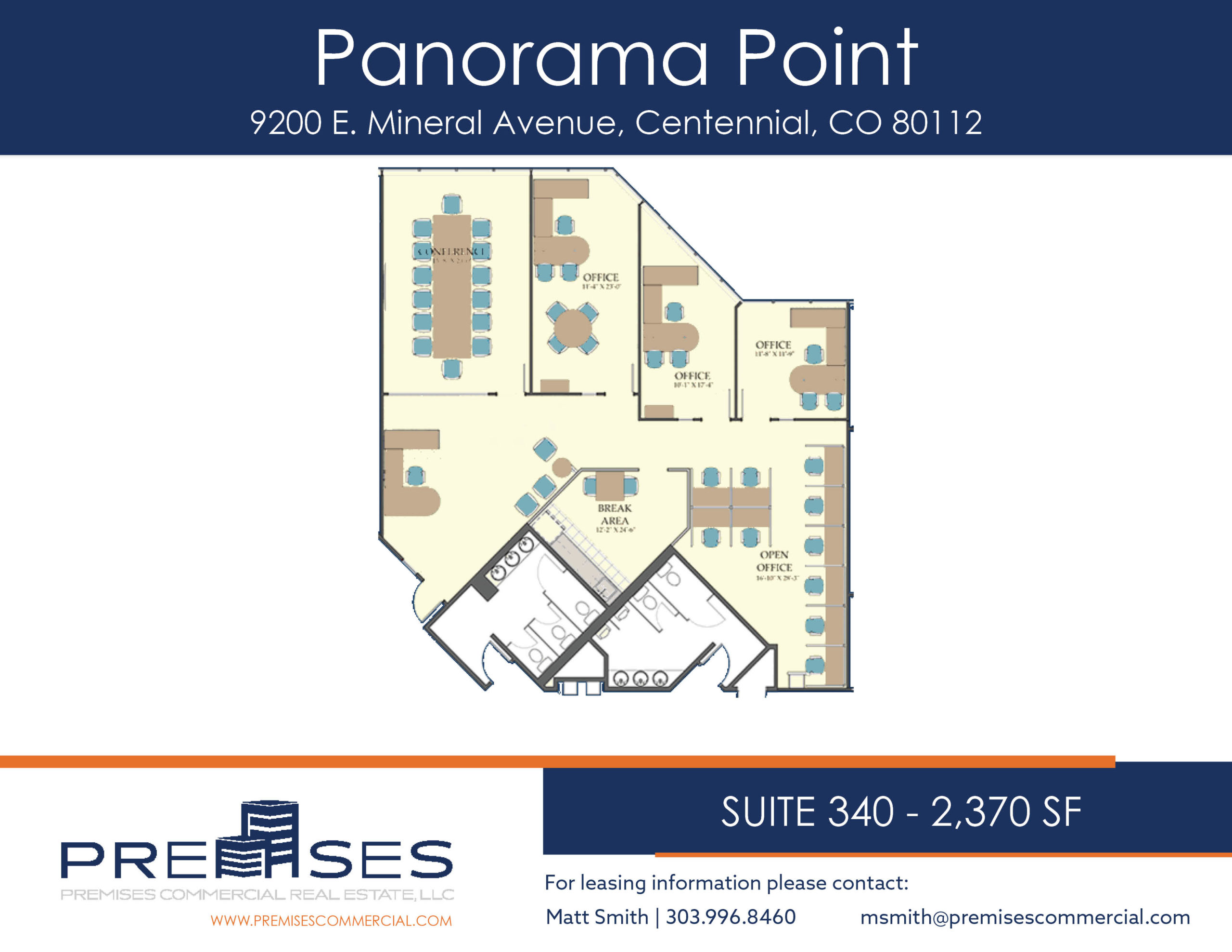 Suite 340 - 2,370 sf