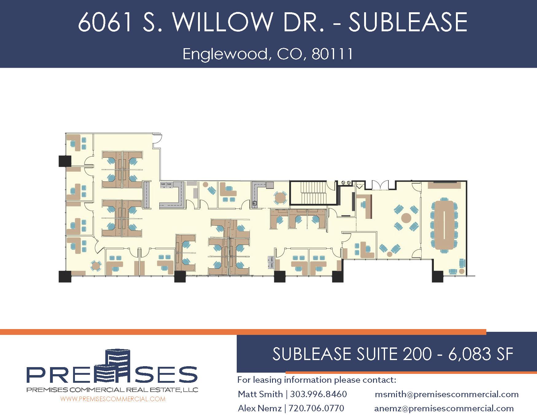 Suite 200 - 6,083 SF